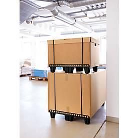 Palettenschiene, extrem leicht, f. Luftfracht geeignet, Unterfahrhöhe 95 mm