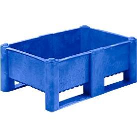 Palletbox 240l, gesloten, 22,5 kg