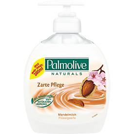 Palmolive verzorging Amandelmelk crèmezeep, 300 ml, stuk