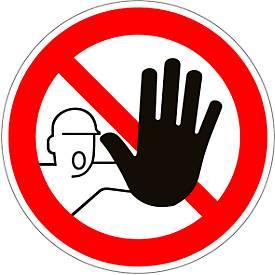 Panneau Accès interdit aux personnes non-autorisées