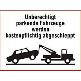 panneau parking en aluminium en allemand acheter bon march sch fer shop. Black Bedroom Furniture Sets. Home Design Ideas
