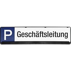 Panneau parking en PP