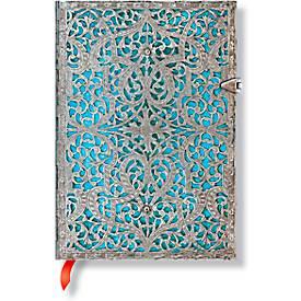 Paperblanks Notizbuch Maya Blau Midi