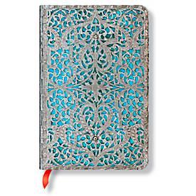 Paperblanks Notizbuch Maya Blau Mini liniert