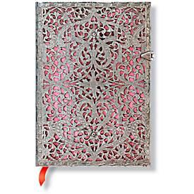 Paperblanks Notizbuch Zartrosa Midi