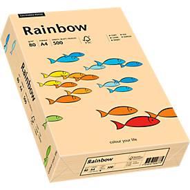 Papier copieur Rainbow, coloris pastels, DIN A4, 80 g/m²
