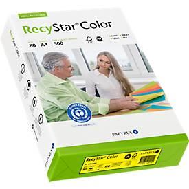 Papier copieur RecyStar Color, A4, couleurs vives, 500 feuilles