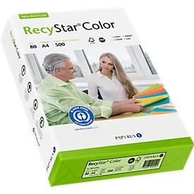 Papier copieur RecyStar Color DIN A4, coloris pastels