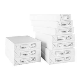 Papier copieur SCHÄFER SHOP Standard, format A4, 80 g/m², blanc, 1 boîte = 10 x 500 feuilles