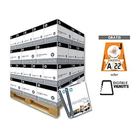 Papier home & office paper + Vignette, DIN A4, 80 g/m², weiß