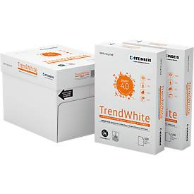 Papier recyclé Steinbeis TrendWhite, A4, 80 g/m², blanc 80%, 2500/5000 feuilles