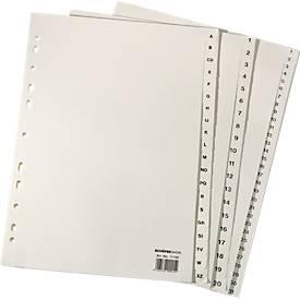 Papier-Register A4, diverse Ausführungen, einzeln