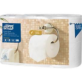 Papier toilette Tork, 153 feuilles par rouleau, 4 couches, 42 rouleaux