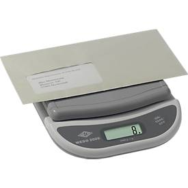 pèse-lettres électronique et bascule WEDO 2000