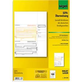 PC-SEPA-Überweisung sigel® ZV570/572