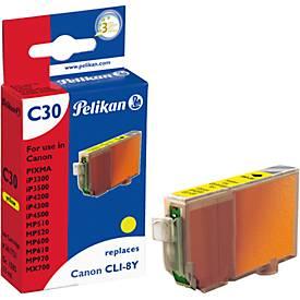 Pelican Tintenpatrone baugleich mit CLI-8Y, gelb