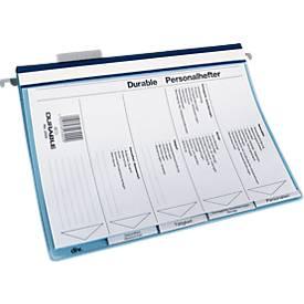 Personalhefter DURABLE, 5 Unterteilungen, Inhaltsverzeichnis, 60 mm Rastreiter
