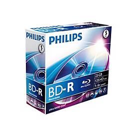 Image of Philips BR2S6J05C - BD-R x 5 - 25 GB - Speichermedium