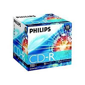 Philips - CD-R x 10 - 700 MB - Speichermedium