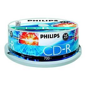 Philips - CD-R x 25 - 700 MB - Speichermedium