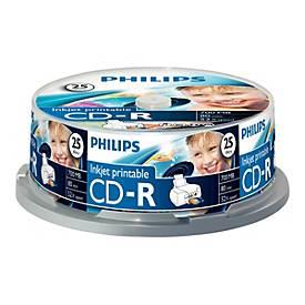 Philips CR7D5JB25 - CD-R x 25 - 700 MB - Speichermedium