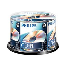 Philips CR7D5NB50 - CD-R x 50 - 700 MB - Speichermedium