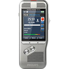 Philips Diktiergerät Digital Pocket Memo DPM 80...
