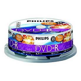 Philips DM4S6B25F - DVD-R x 25 - 4.7 GB - Speichermedium