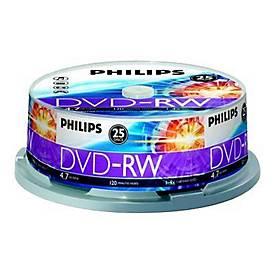 Philips DN4S4B25F - DVD-RW x 25 - 4.7 GB - Speichermedium