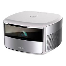 Philips Screeneo S6 SCN650 - DLP-Projektor - tragbar - 802.11a/b/g/n/ac WLAN / Bluetooth / LAN