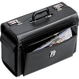 Pilotenkoffer mit Vortasche, mit Tragegriff, 1 Fach, verschiedene Ausführungen