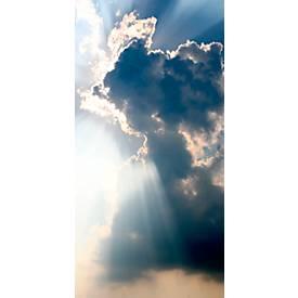 Plafondcanvas, motief wolken, 2000 x 1000