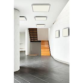 Plafonnier à LED FLAT, modèle carré, de 2400 à 7000 Lumen, durée de vie 20.000 heures, 5 dimensions