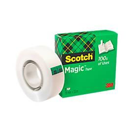 Plakband Magic Tape  810, transparant, 19 mm x 33 m