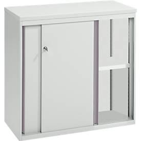PLANOVA armoire à portes coulissantes PA, gris clair