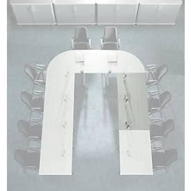 Planova Basic Besprechungstisch Grundelement, Rechteck, 1800 x 800 mm
