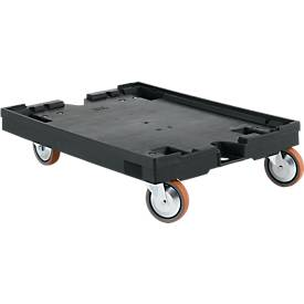 Plateau roulant. Compatible bacs norme euro 800 x 600. Capacité 450 kg