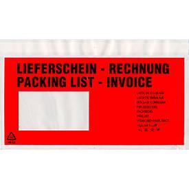 Pochette à documents Premium, DIN long, bon de livraison/facture