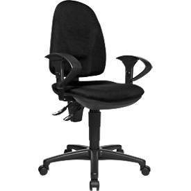 POINT 300 bureaustoel, zonder armleuningen, zwart