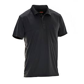 Image of Polo-Shirt Jobman 5533 PRACTICAL Spun Dye, SE 12-141, schwarz, XL