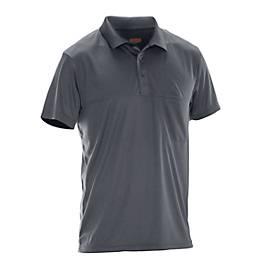 Polo Spun Dye dunkelgrau XL