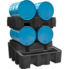 Polyester vatenpallet voor polyester opvangbak 450 l