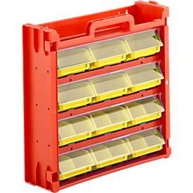 Porta-Fix 6, rood/geel