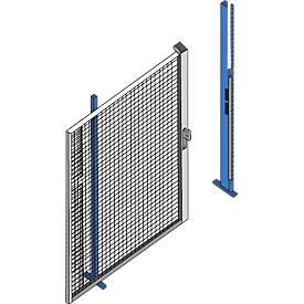 Porte coulissante pour paroi grillagée 1000 x 2200 mm
