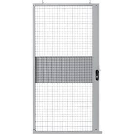 Porte coulissante, pour système de cloisonnement grillagé, l 1110 x H 2110 mm