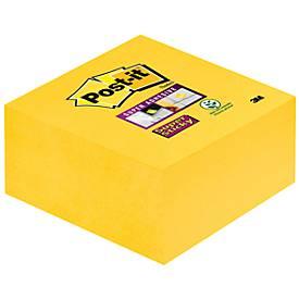 POST-IT Haftnotiz Würfel Super sticky, 76 mm x 76 mm, 350 Blatt