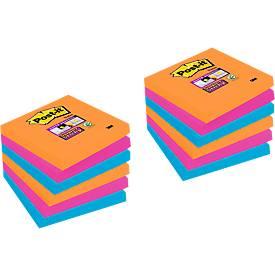 POST-IT Haftnotizen Super sticky, 9 Blöcke + 3 Blöcke GRATIS