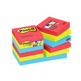 POST-IT Haftnotizen Super sticky, Bora Bora Collection