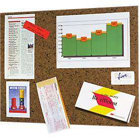 Post-it® zelfklevend memobord, bruin