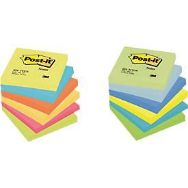 Post-it® Notes - en couleur, Offre complète